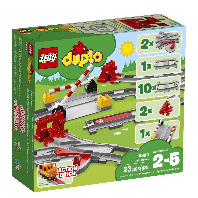 LEGO Duplo Town - Train Tracks (10882) | Walmart Canada