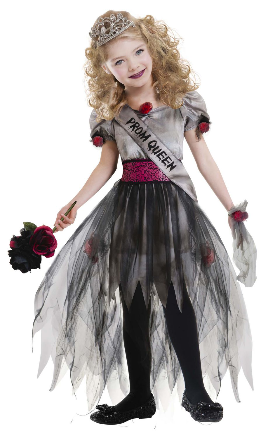 Halloween Zombie Costumes For Girls.Halloween Girls Prom Zombie Costumes Walmart Canada