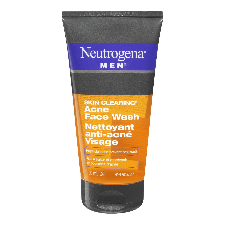 Neutrogena face wash acne
