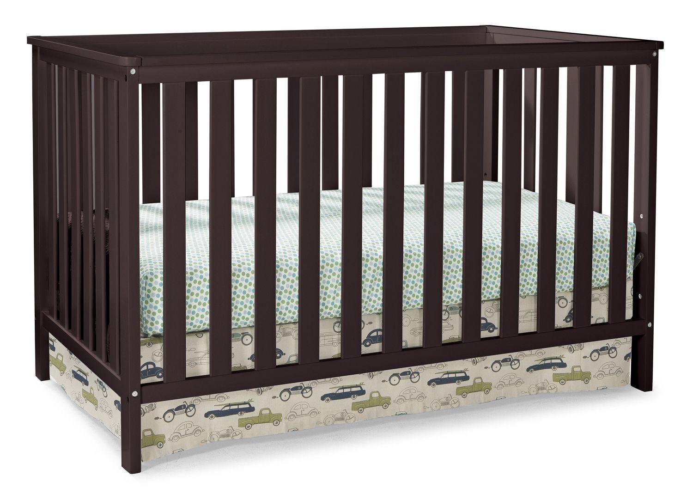 crib afg set guardrail in magnifier espresso raw alice baby w alicegraceset
