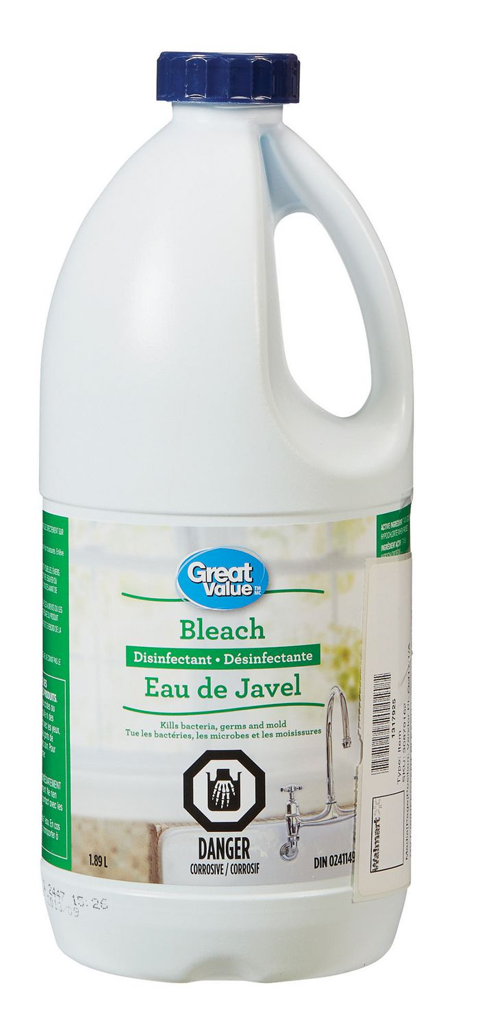 Great Value Disinfectant Bleach