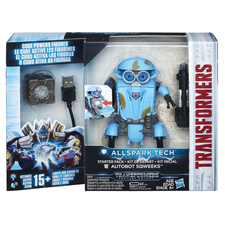 "The Last Knight /""Autobot Sqweeks/"" Interactive Electronic Figure ////Hasbro"
