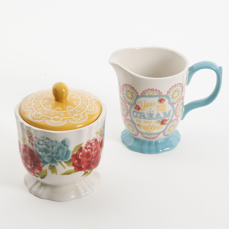 The Pioneer Woman Blossom Jubilee Creamer And Sugar Pot Set Walmart Canada