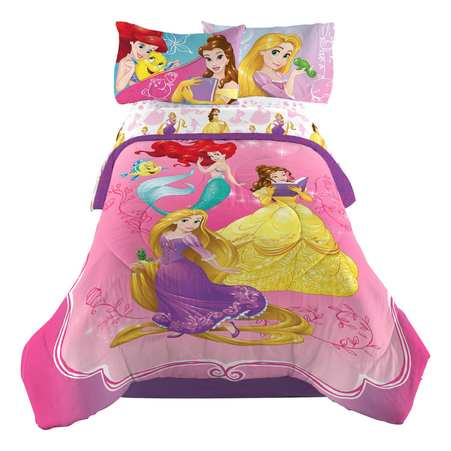 "Disney Princess ""Dazzling Princess"" Twin Full forter"