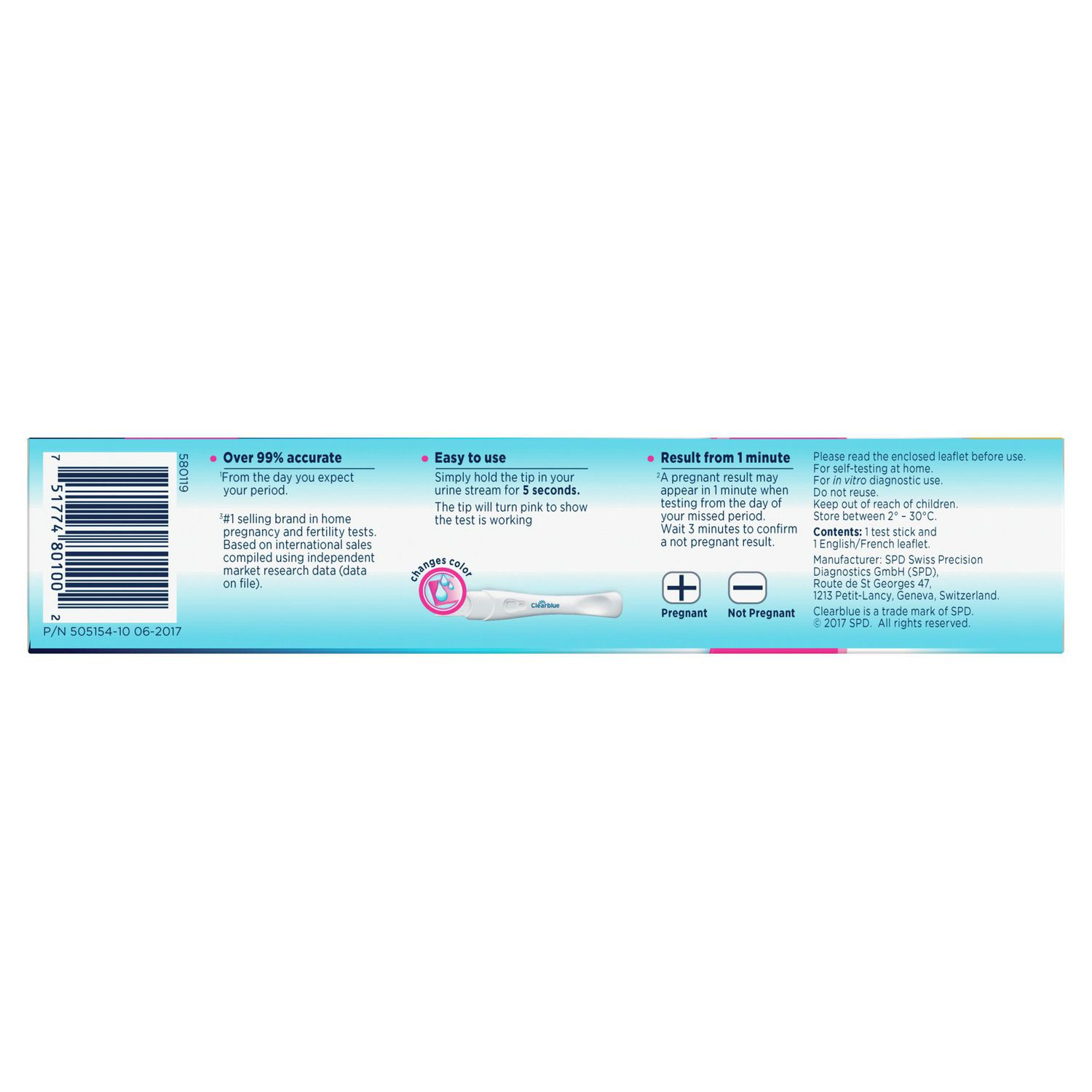 Clearblue® Rapid Detection Pregnancy Test | Walmart Canada