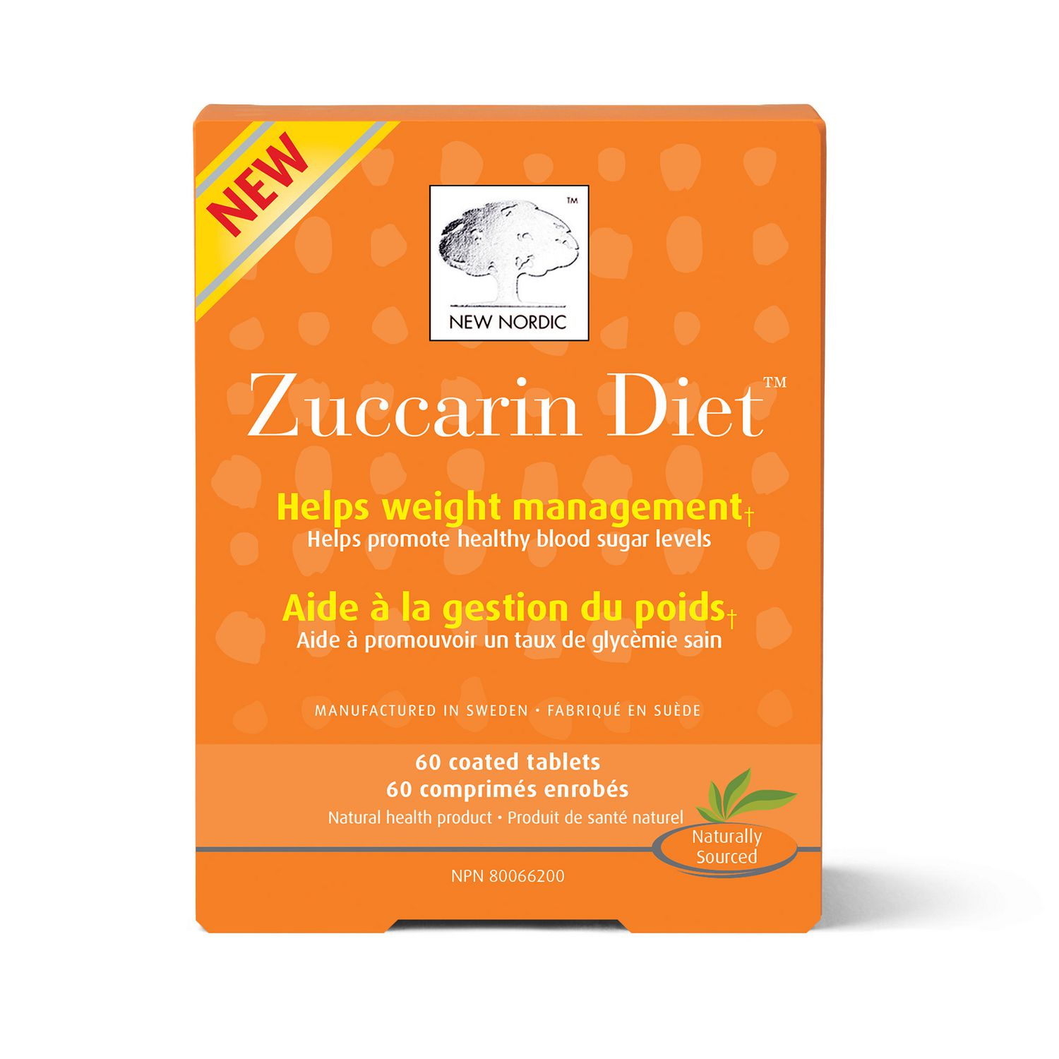 New Nordic Zuccarin Diet Tablets