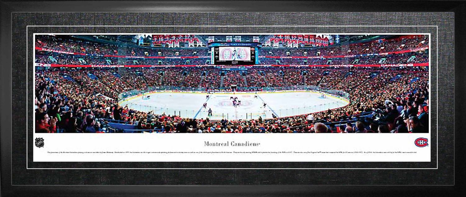 size 40 2ed94 1ece3 Montreal Canadiens - Framed Panorama Arena Picture | Walmart ...