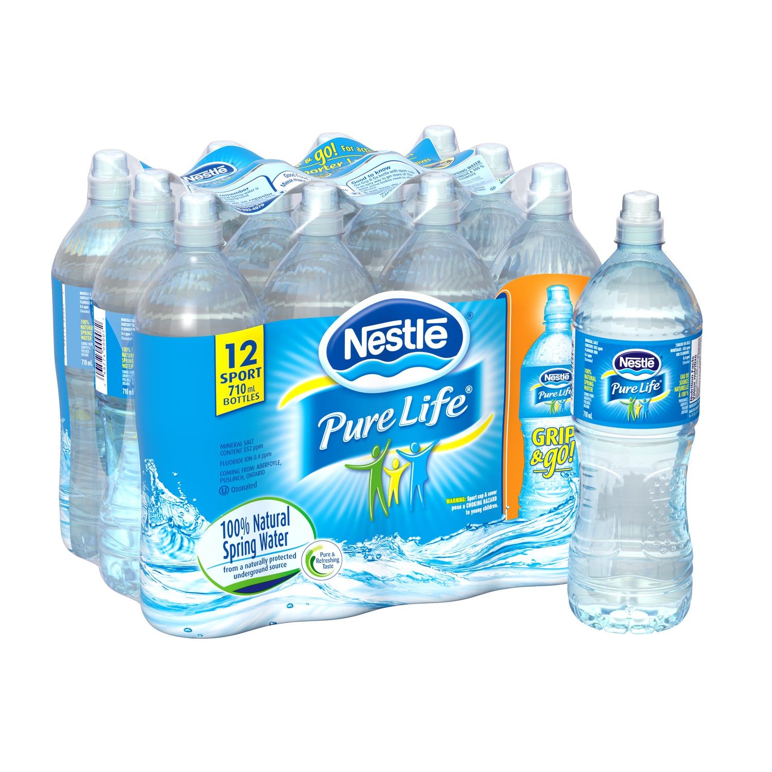 4f3abaa266 Nestlé Pure Life Nestlé® Pure Life® Natural Spring Water - image 1 of 4  zoomed image