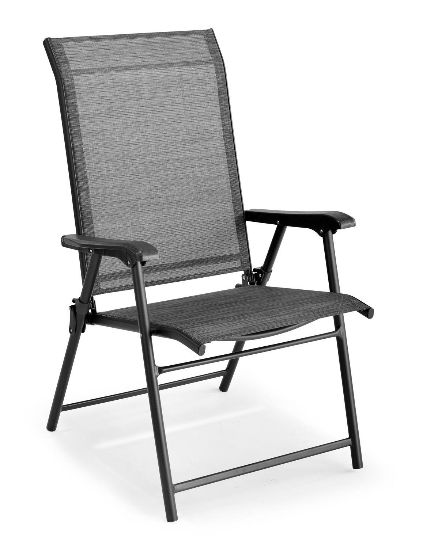 Chaise de en hometrends pliante toile cq5L3R4jA