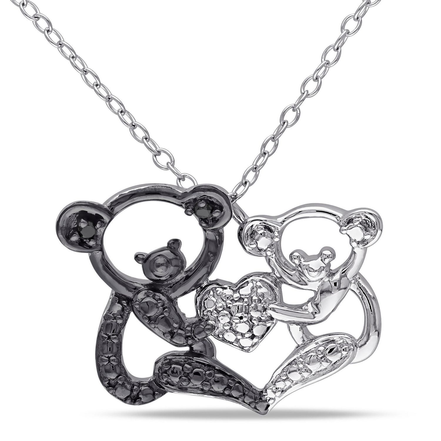 bear teddy chopard jewellery products diamond type necklaces cf pendant floating oliver necklace vendor