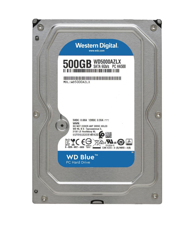 Western Digital Blue 500GB 5400 RPM Sata 6 Gb/s 7MM 2.5 ...