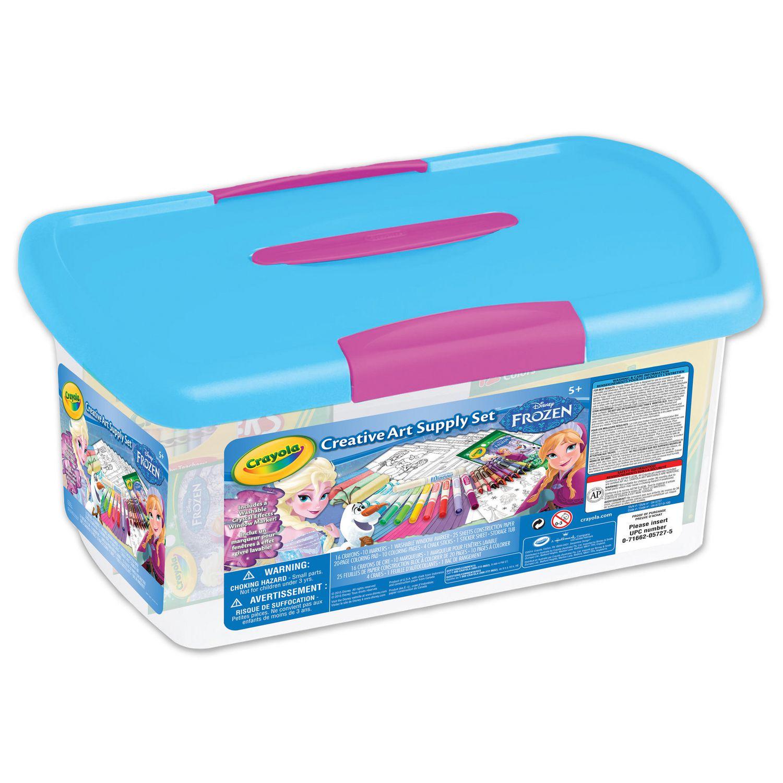 Frozen Creative Art Supply Tub