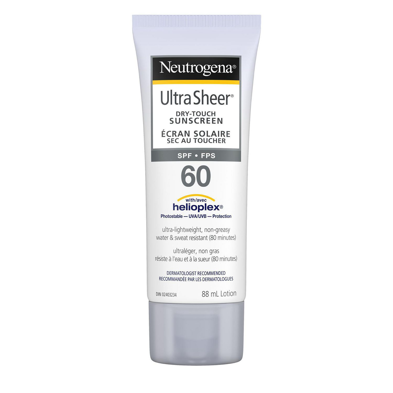 neutrogena face sunscreen