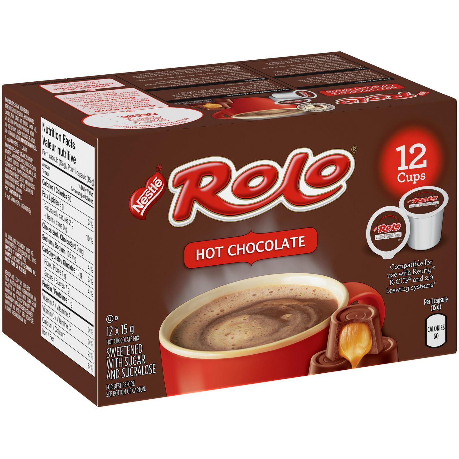 ROLO® Hot Chocolate Pods | Walmart.ca