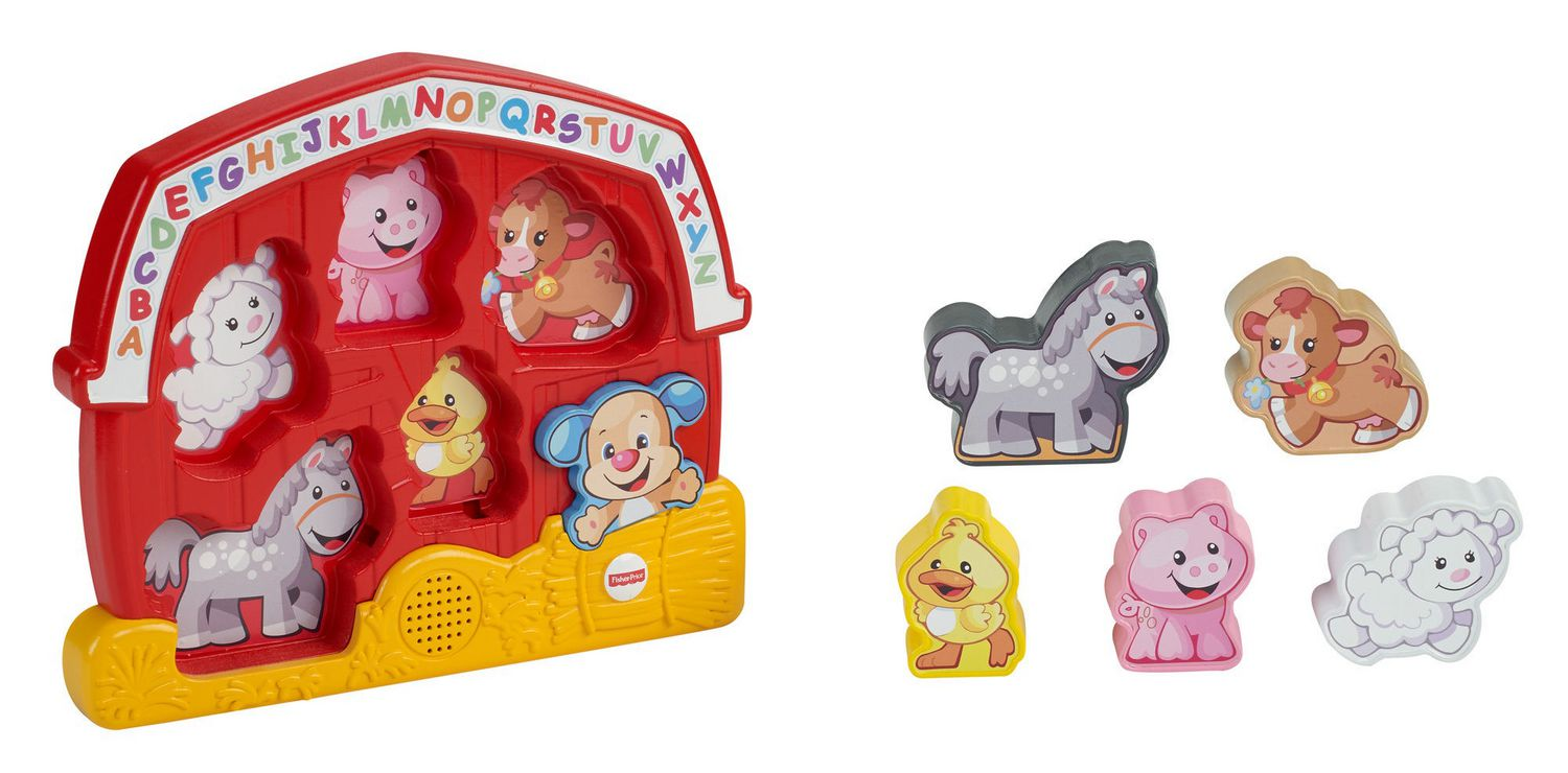 Fisher-Price Laugh /& Learn Farm Animal Puzzle