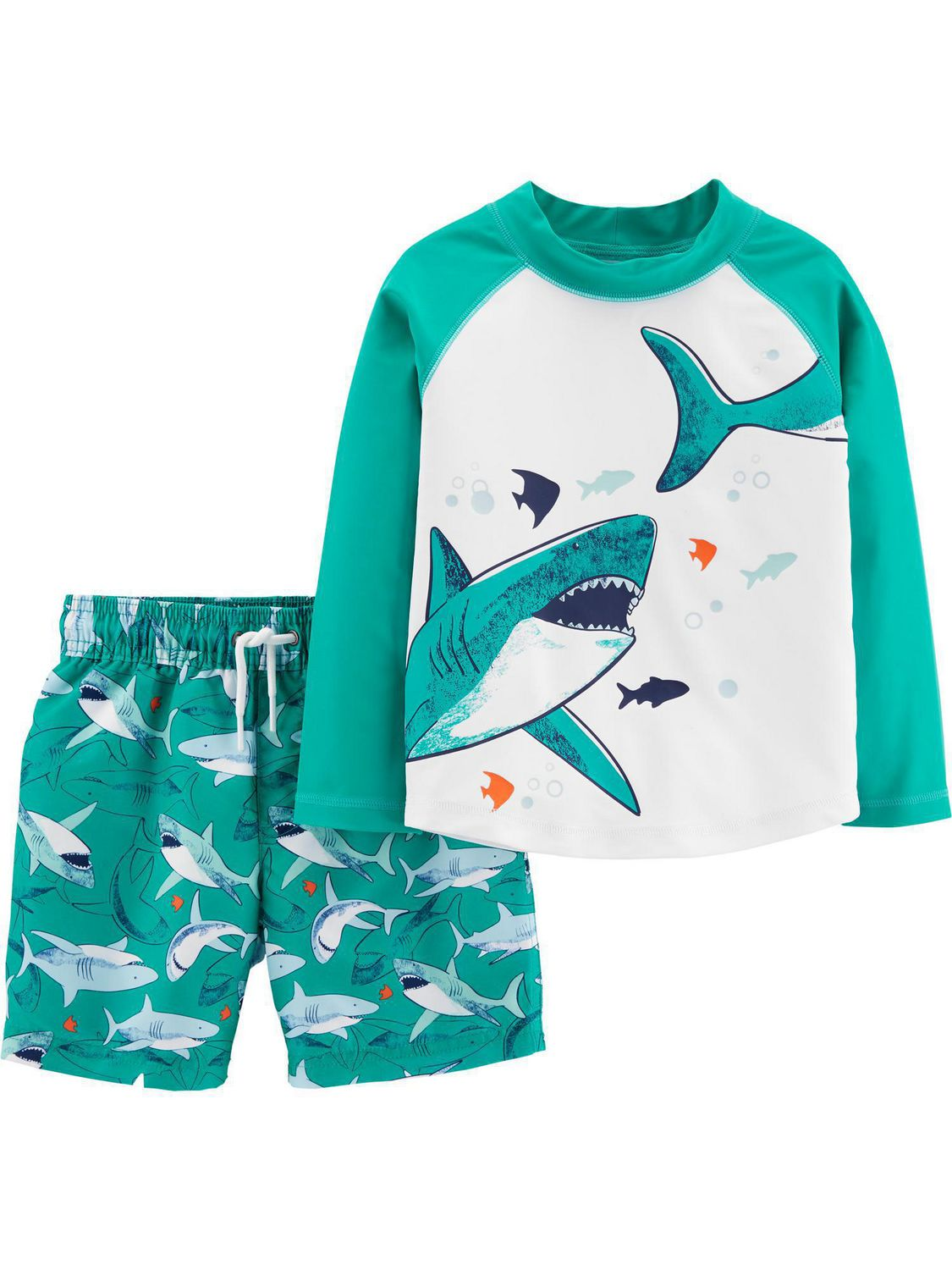 Carters Toddler Boys Rashguard Set Carter/'s