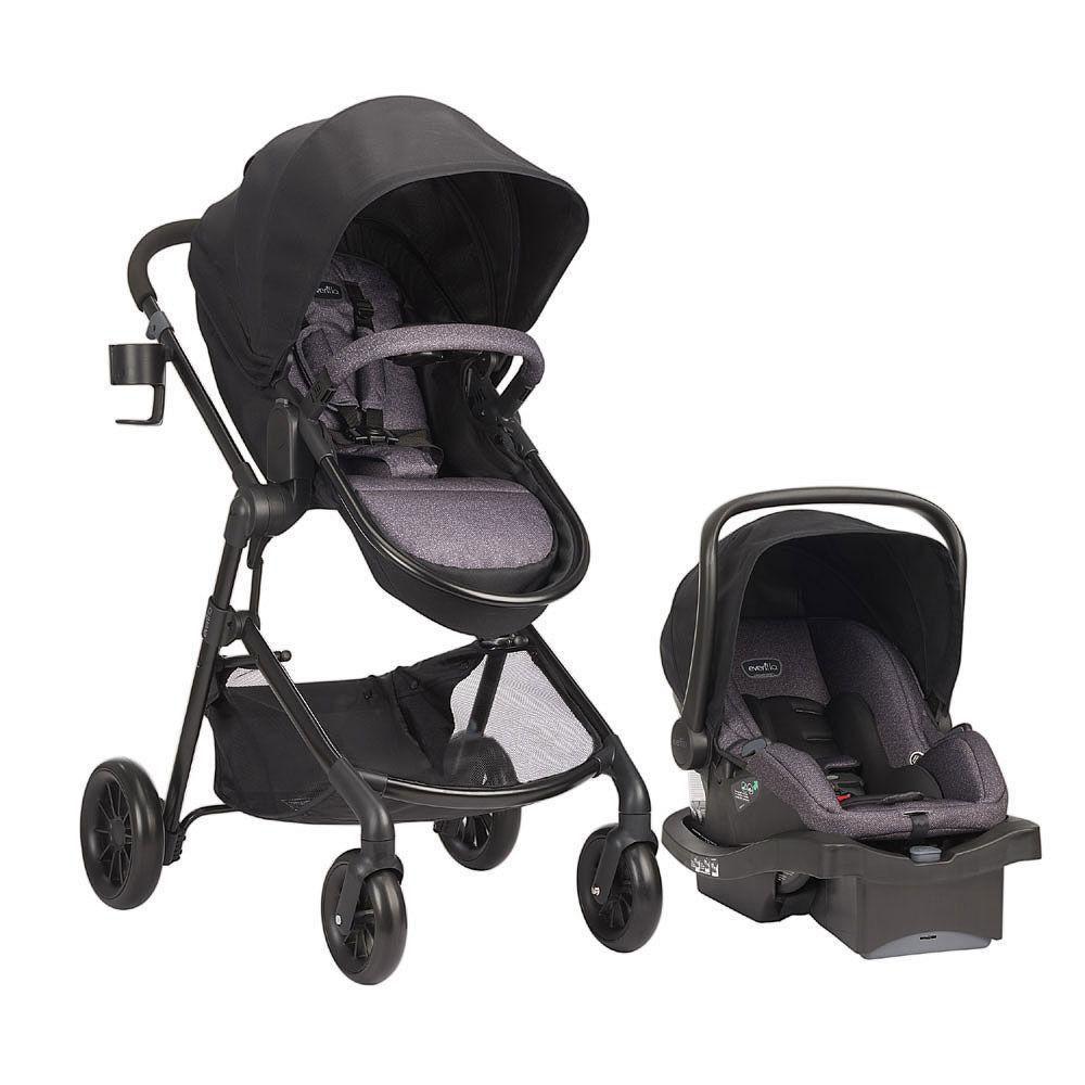 Evenflo LiteMax Infant Childs Comfort Safety Travel Infant Car Seats Base Black