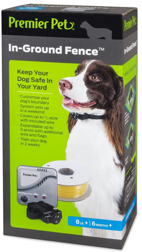 100/% Safe In-Ground Electric Dog Fence Underground Wired Pet Containment System