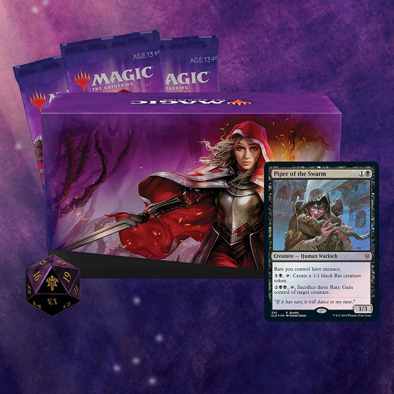Magic the Gathering Throne of Eldraine Bundle GIFT EDITION SEALED IN-HAND!!