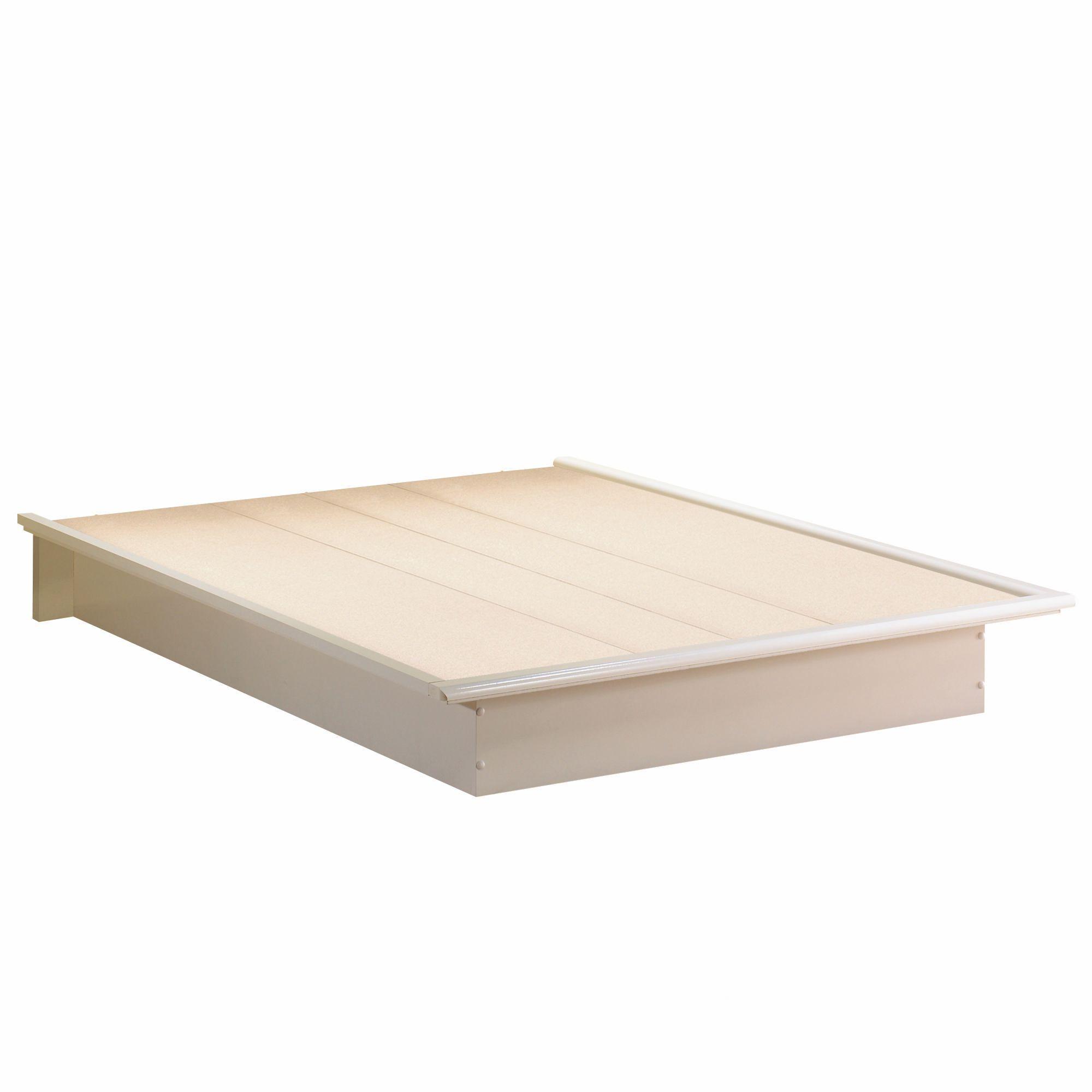 south shore soho collection queen platform bed  walmartca -