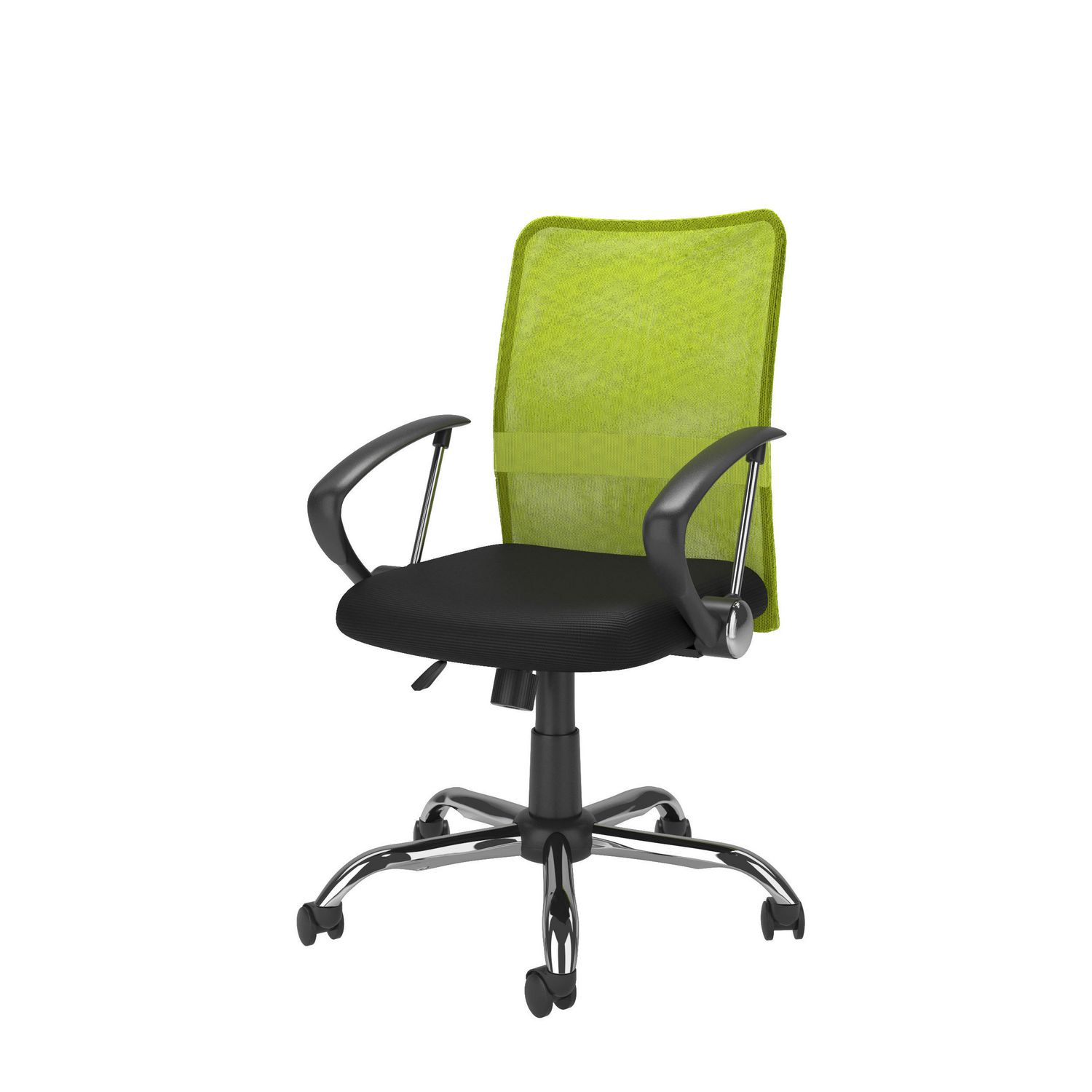 CorLiving Workspace Contoured Lime Green Mesh Back fice Chair