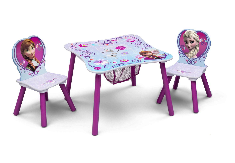 Delta Children Table et Chaises Couleur Naturel