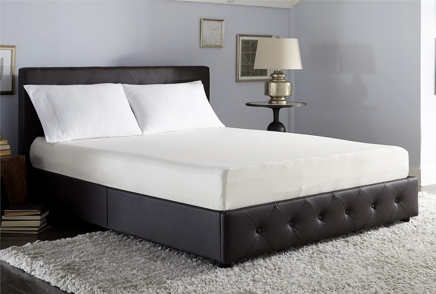 twin mattress foam sabrina memory front