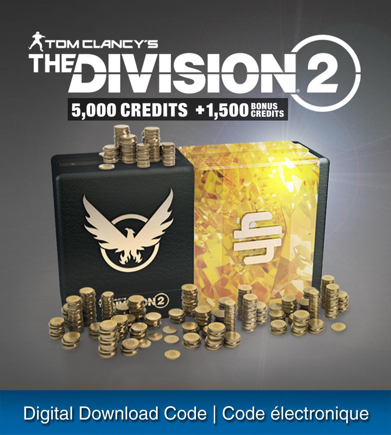 PS4 Tom Clancy's The Division 2 - 6500 Premium Credits