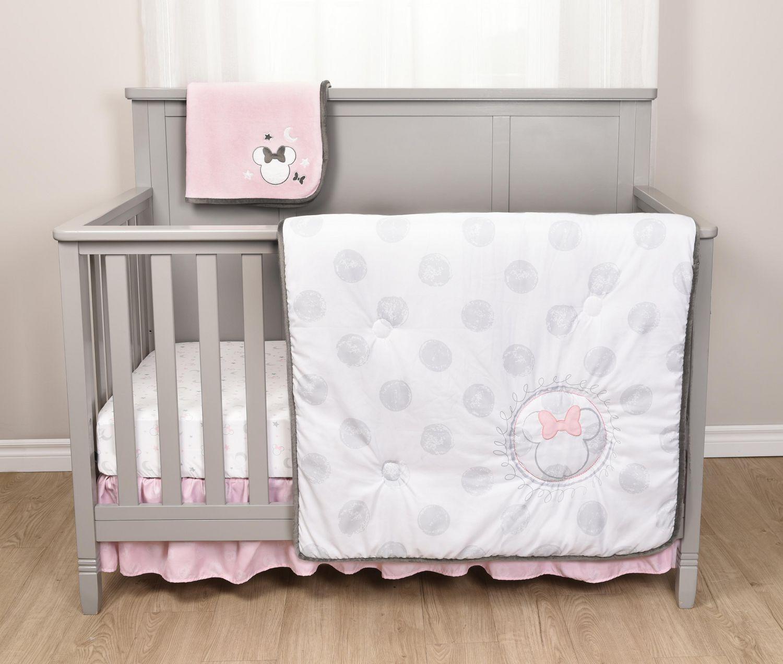 Disney Baby Minnie Mouse 5 Piece Crib Bedding Set Walmart Canada