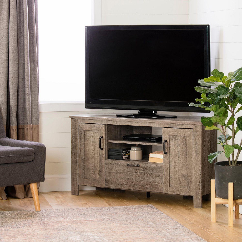Meuble Tv En Coin south shore lionel meuble tv en coin