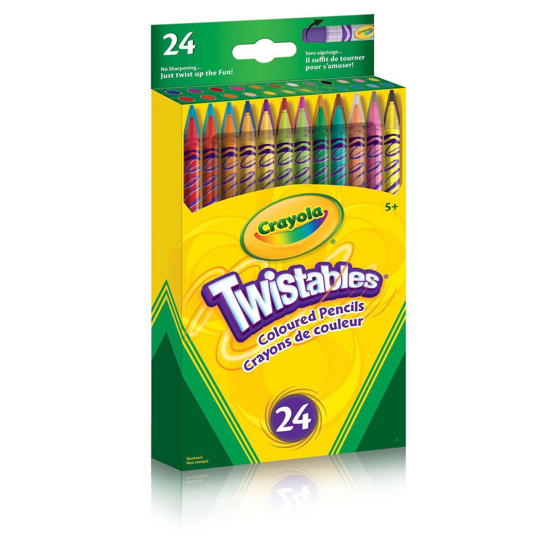 crayola twistables coloured pencils walmartca - Crayola Colored Pencils Twistables