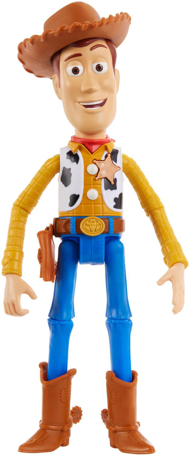 Disney Pixar Toy Story 4 True Talkers Woody Figure English