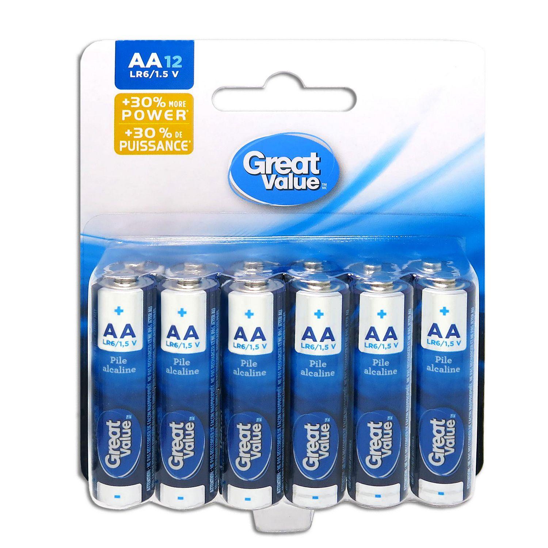 aa batteries walmart