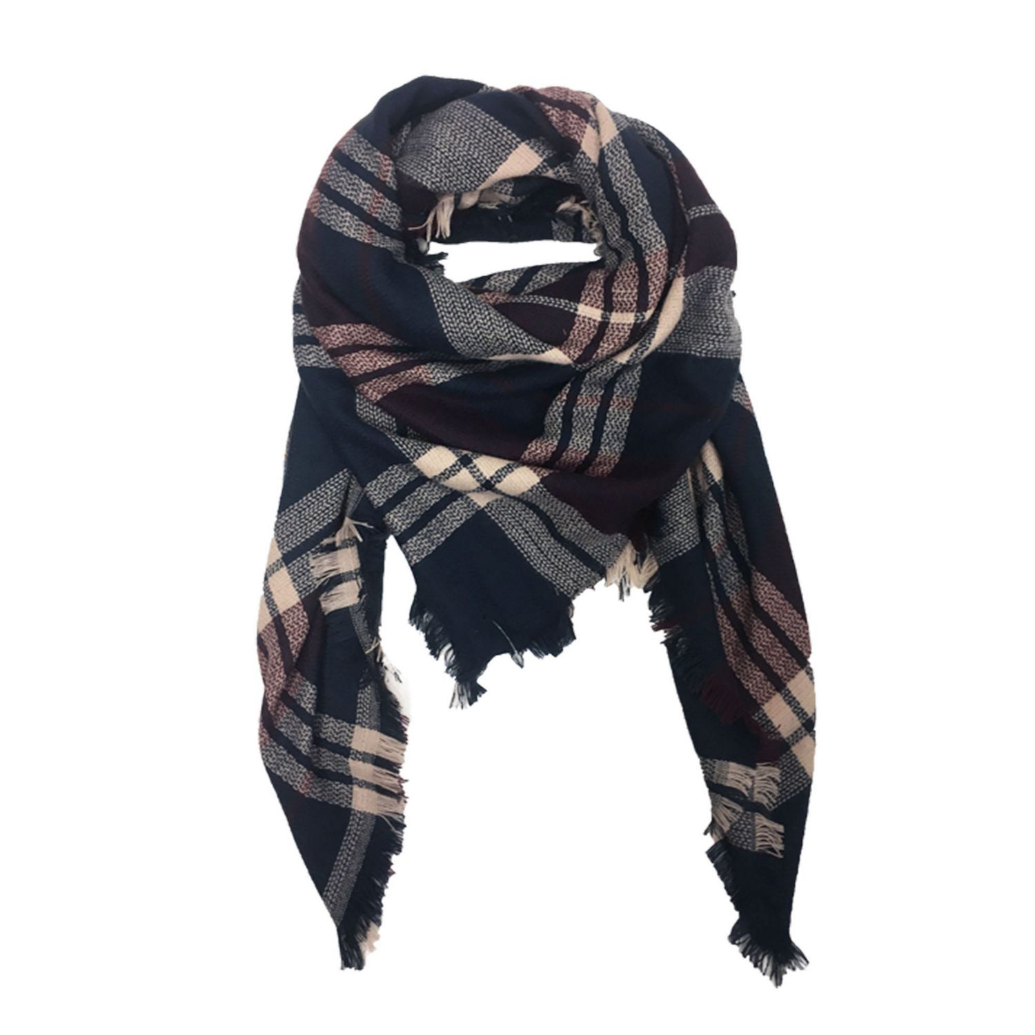 Square Blanket Scarf By George Walmart Canada