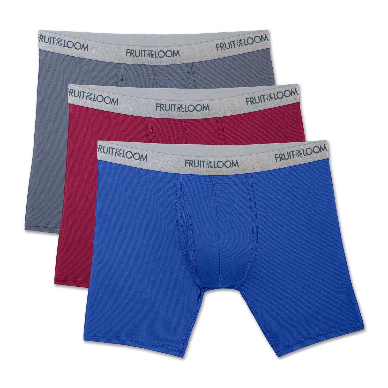 Boxer Briefs Underwear Men/'s XL L M S Stretch Levi/'s 3//4 Pack Cotton