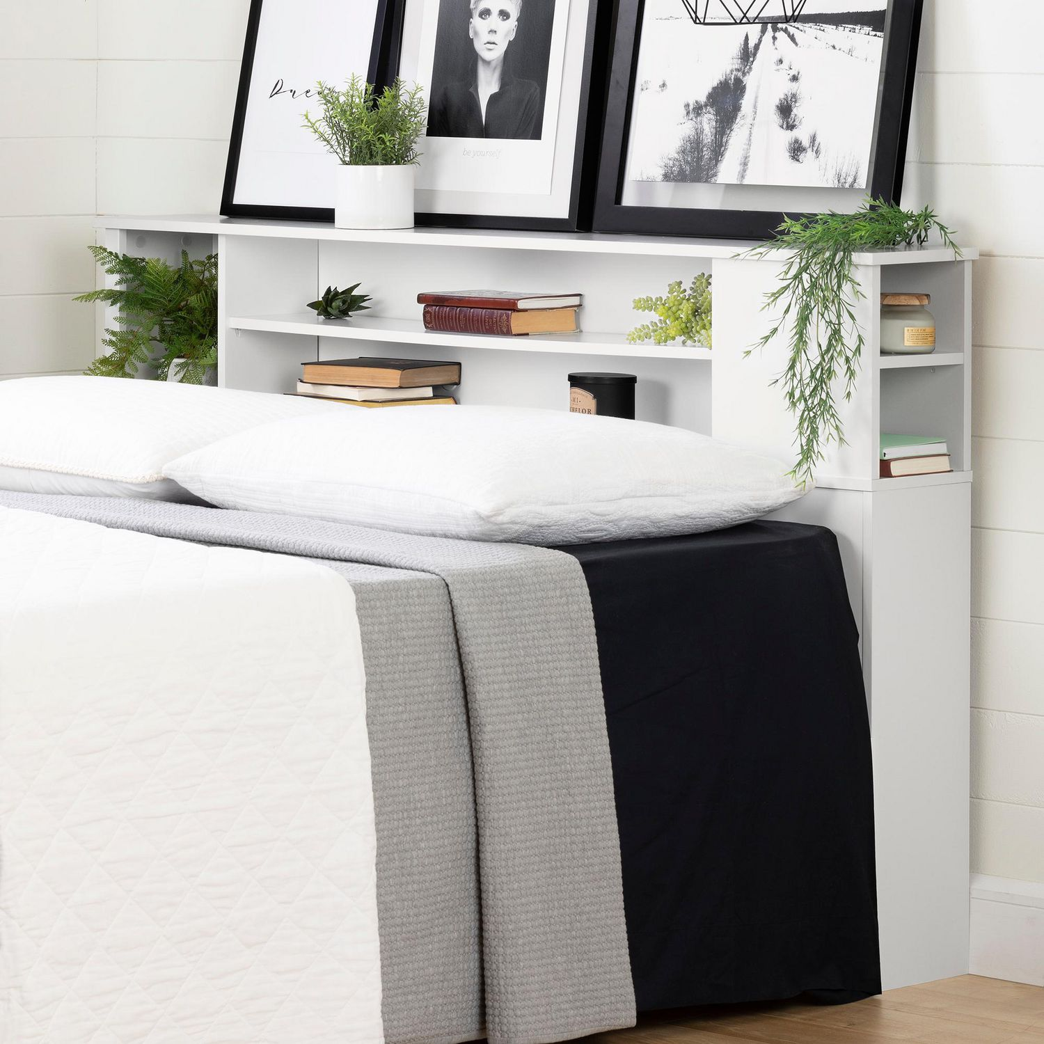 king wood white tufted bookshelf queen headboards headboard fabric bed size bookcase full upholstered