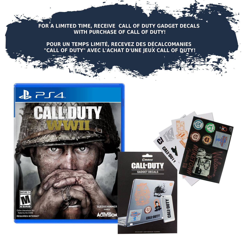 Call Of Duty Wwii Ps4 Walmart Canada