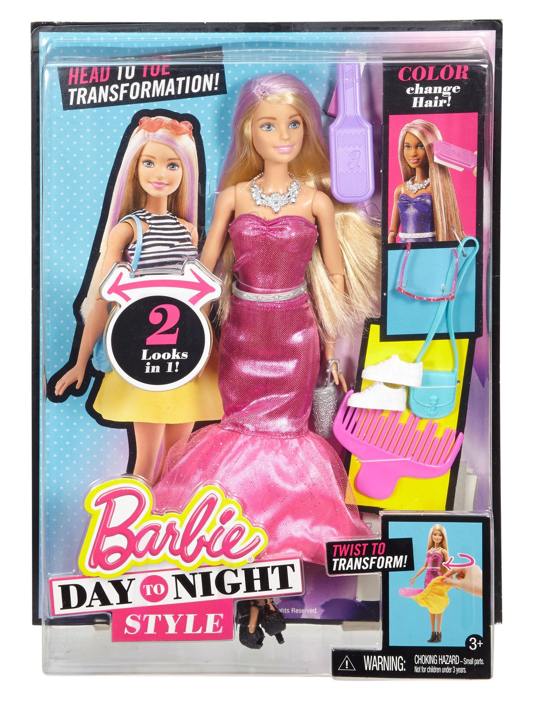 Barbie Day To Night Style Doll Walmart Canada