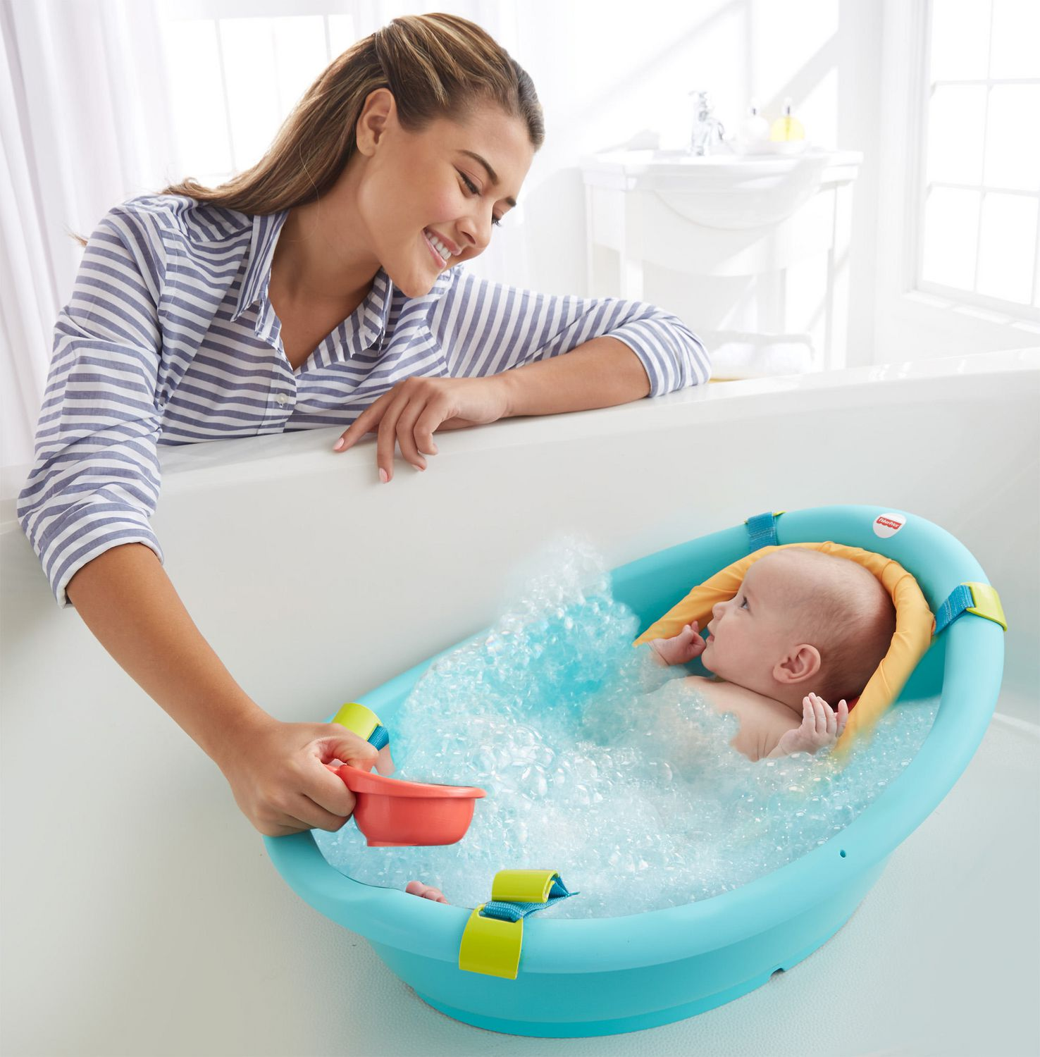 sc 1 st  Walmart Canada & Fisher-Price Rinse u0027n Grow Bath Tub | Walmart Canada