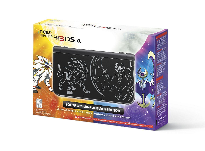 nintendo ds xl ds price bundles exclusives walmart nintendo 3ds xl pokeacutemon sun moon black edition bundle
