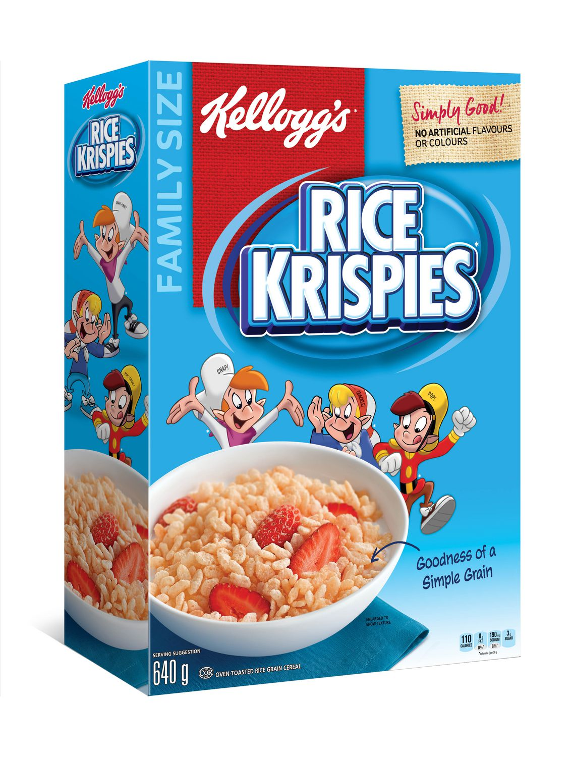 Kelloggs rice krispies cereal original 640g family size kelloggs rice krispies cereal original 640g family size walmart canada ccuart Image collections
