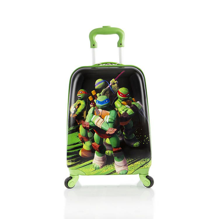 Heys International Nickelodeon Ninja Turtles Kids' Spinner Luggage ...