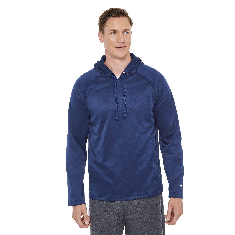 681f0eee387a Athletic Works Men s Tech Fleece Hoodie - image 1 of 6 zoomed image