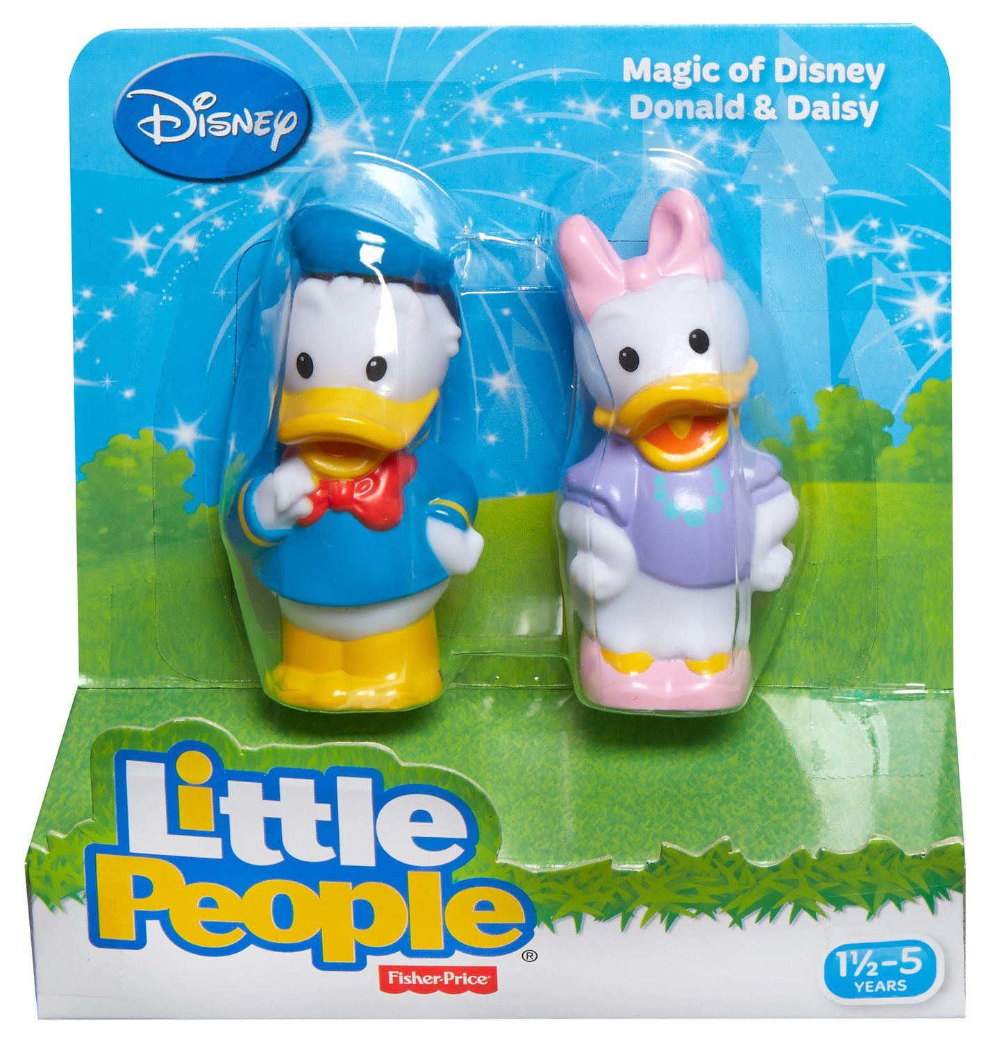 Fisher-Price Little People Magic of Disney Donald and Daisy Friends ...