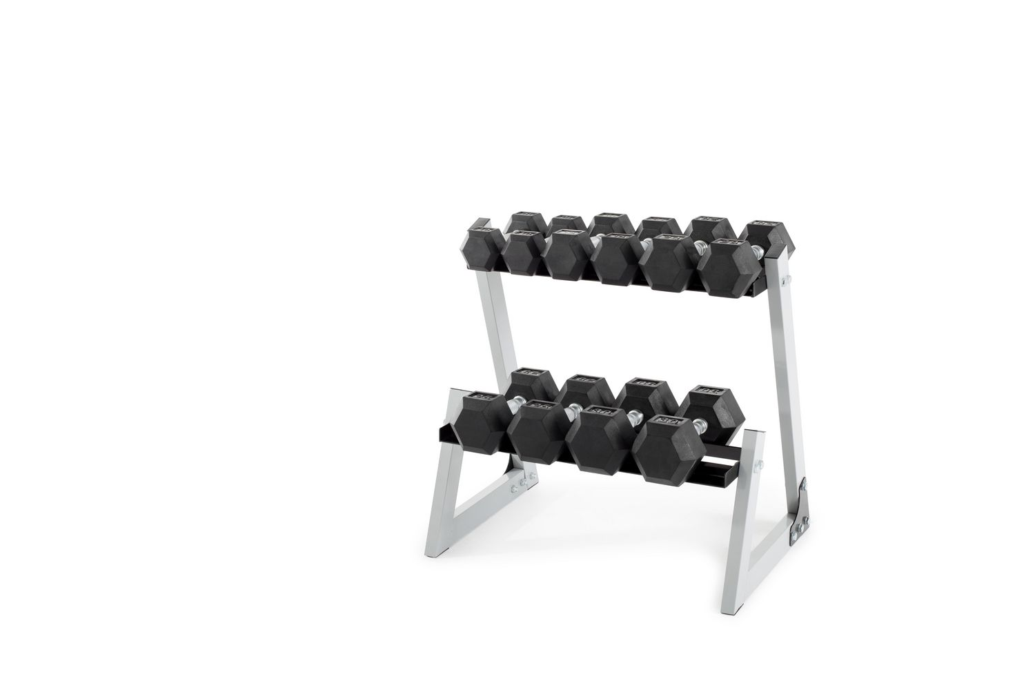 2 20LB Weider Rubber Hex Dumbbells BRAND NEW 40 LBS TOTAL FREE//FAST SHIPPING