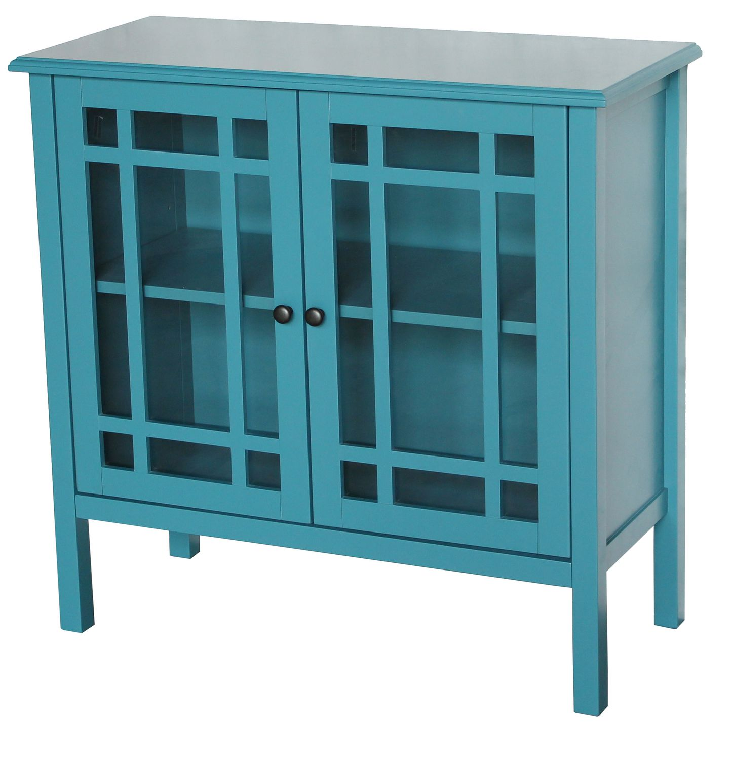 hometrends Tempered Glass Door Accent Cabinet | Walmart Canada