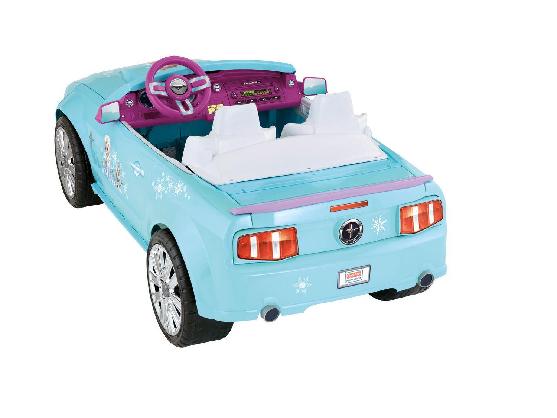 Power Wheels Disney Frozen Ford Mustang Walmart Canada