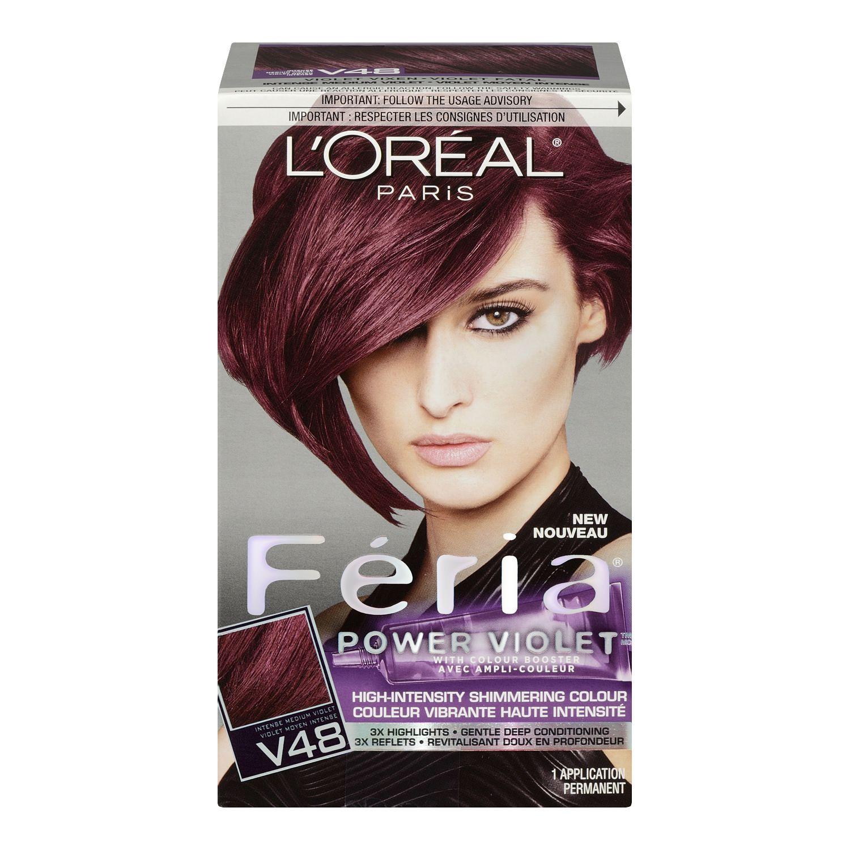 Loral Paris Fria Power Violet V48 Haircolour Walmart Canada