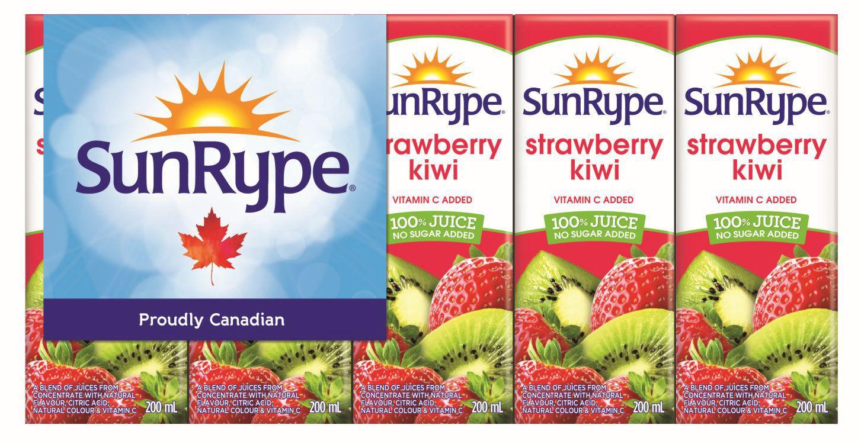 Sunrype No Sugar Added Strawberry Kiwi 100 Juice Walmart Canada