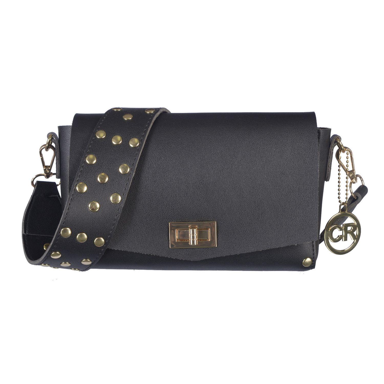 628094eb1072 Club Rochelier Studded Crossbody Bag